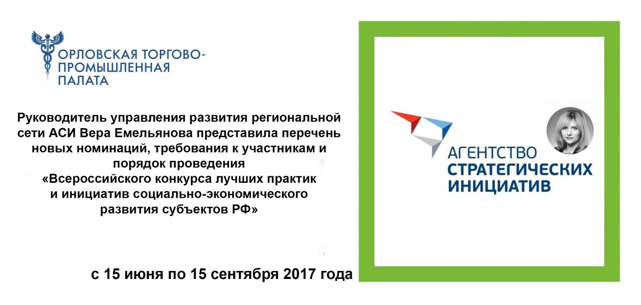 Конкурс лучших практик и инициатив социально-экономического развития